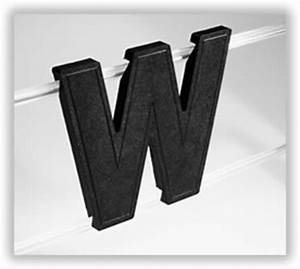 slotted sign letters With wagner sign letters