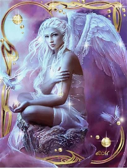 Fairies Fairy Angel Animated Angels Glitter Desktop