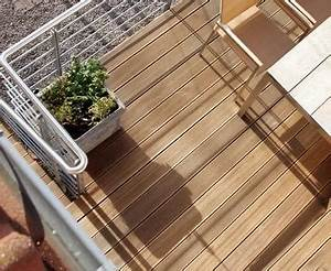 balkon einrichten tipps ideen fur jede himmelsrichtung With balkon teppich mit beton tapete vlies