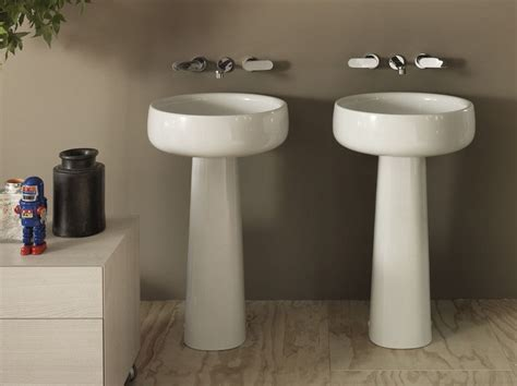 Amazing Bathrooms From Flaminia by Bonola 50 Lavabo Freestanding By Ceramica Flaminia