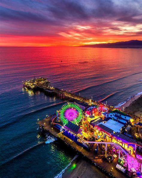 From wikimedia commons, the free media repository. The beautiful Santa Monica Pier at sunset. : SantaMonica