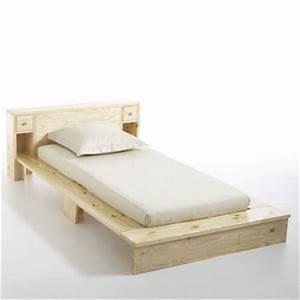 Lit Une Place : tete de lit une place ~ Teatrodelosmanantiales.com Idées de Décoration