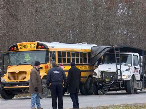Teen Boy Killed In School Bus Crash While Headed To