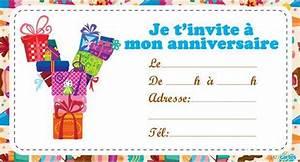 Invitation Anniversaire Fille 9 Ans : carte invitation anniversaire fille 9 ans gratuite ~ Melissatoandfro.com Idées de Décoration