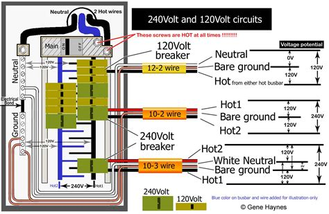 Breaker Switch Wiring Diagram by 220 Breaker Box Wiring Diagram Collection