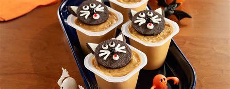 Black Cat Pudding Cups Ready Set Eat
