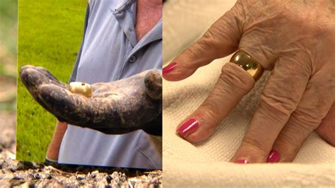 man finds 94 year old s lost wedding ring using metal detector inside edition