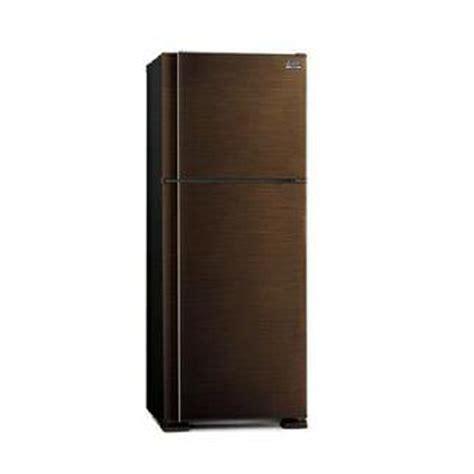 jual kulkas mitsubishi 2 pintu besar tipe mr f62eh brw n