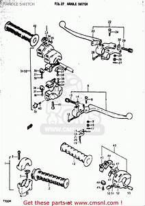 Suzuki T500 1971 1972 1973 1974 1975  R   J   K   L   M