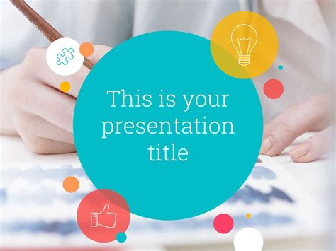 playful powerpoint template  google  theme