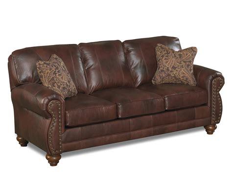 nailhead trim sofa set best home furnishings noble s64lu stationary leather sofa