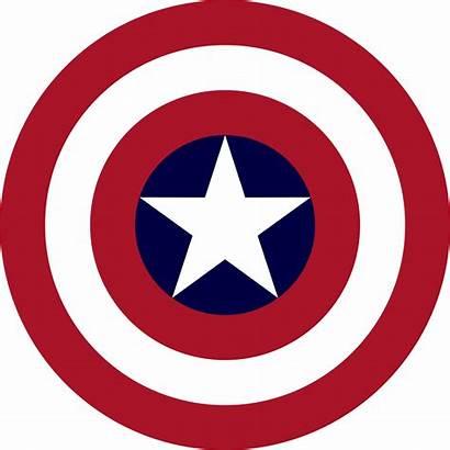 Shield Clip Svg Library Captain America Freeuse
