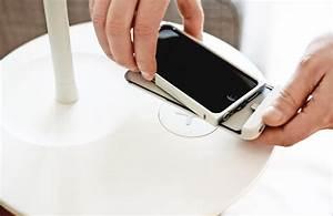 Handy Induktiv Laden : ikea homesmart clevere l sungen zum drahtlosen aufladen von smartphones unhyped ~ Watch28wear.com Haus und Dekorationen