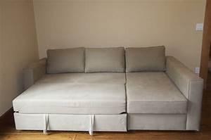 ikea manstad sofa bed rv restoration pinterest With small sectional sofa basement