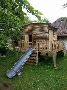 plan cabane bois plan d une cabane en bois les 25 With maison en palette plan 10 cabane en bois pour enfant sur pilotis tom de axi