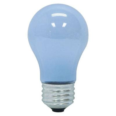ge reveal 40 watt incandescent a15 ceiling fan light bulb
