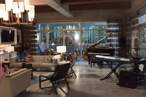 set design on the set of empire traditional home