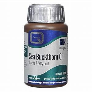 Quest Sea Buckthorn Oil 60 Capsules
