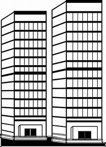 Black And White Apartment Building Clip Art (25+)