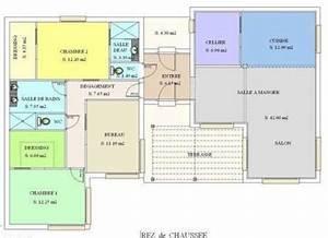 plan de maison interieur et exterieur With plan interieur de maison