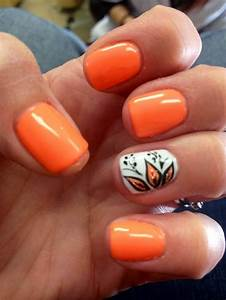 Awesome the astonishing fall nail design ideas pics
