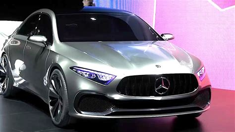 Mercedes Class by Mercedes Concept A Driving World Premiere New