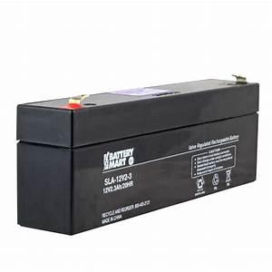 Batterie 12 Volts : 12 volt 2 2 ah sealed lead acid rechargeable battery f1 ~ Farleysfitness.com Idées de Décoration