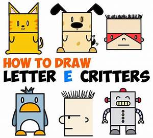 Best 25 cute cartoon animals ideas on pinterest for How to draw lettering book