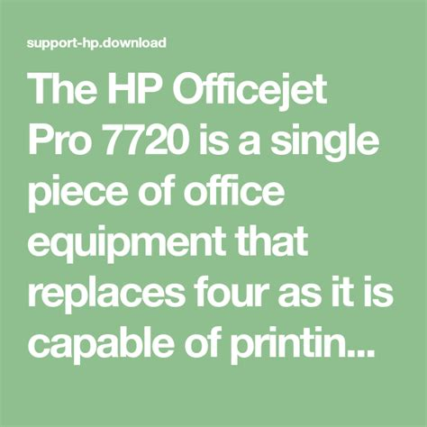 For hp products a product number. Download Drivers Hp Officejet 7720 Pro / Hp Officejet 5255 Driver Download Drivers Printer : All ...