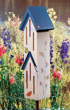 butterfly house wooden dollhouse furniture