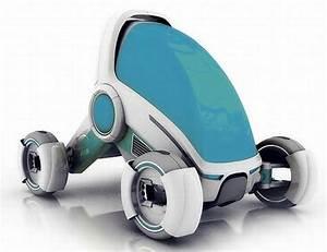 Voiture Du Futur   Confortable  Belle  Chauff U00e9e Ou