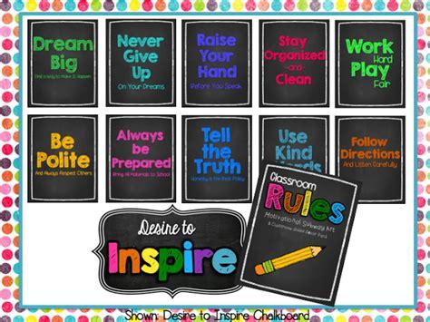 desire  inspire chalkboard brights pastels