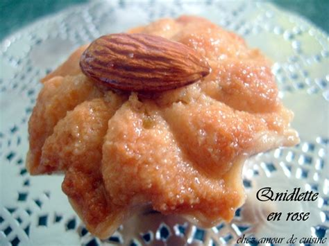 dziriettes en fleur gateau algerien aux amandes et miel amour de cuisine