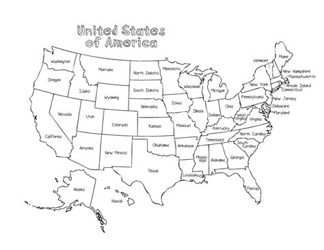 coloring pages   july summer united states map