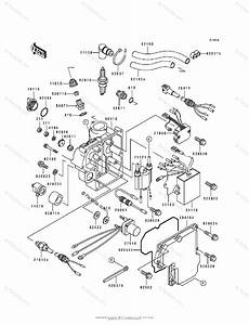 Kawasaki Jet Ski 1993 Oem Parts Diagram For Ignition