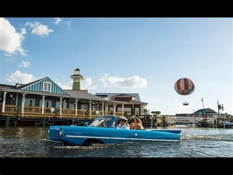 Boat Car Disney Springs by Hicar On Ride Boat Disney Springs