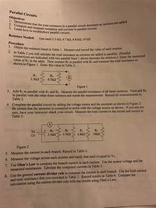 Solved  Parallel Circuits Objectives 2  Compustrate That T