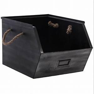 Casier De Rangement Métal : casier de rangement m tal gris maison fut e ~ Dode.kayakingforconservation.com Idées de Décoration