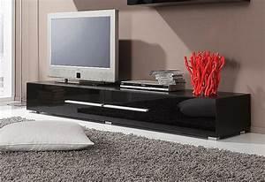 Lowboard Schwarz Matt : tv lowboard mit 2 klappen breite 180 cm kaufen otto ~ Sanjose-hotels-ca.com Haus und Dekorationen