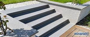 Treppenstufen Außen Beton : treppensanierung mit treppenbelag aus verschlei freiem polymerbeton ~ Frokenaadalensverden.com Haus und Dekorationen