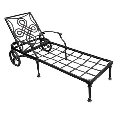 chaises aluminium vienna cast aluminum outdoor chaise lounge chair outdoor