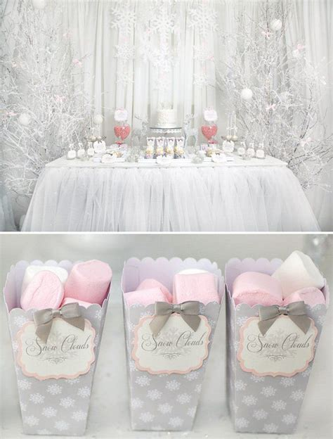 Winter Themed Baby Shower - 25 best ideas about baby shower winter on