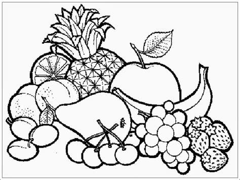 mewarnai gambar buah