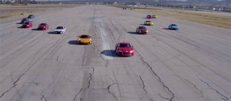 2017 Acura Nsx Behind Gt-r, 911 Beats Viper Acr In World's