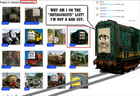 Paxton's reaction to the Thomas wiki by Eli-J-Brony on ...