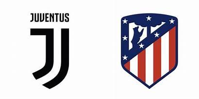 Juventus Madrid Brand Atletico Printsome Colours Logos