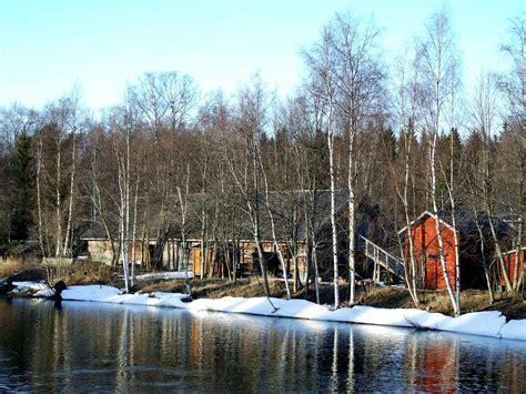 Aurora Lights by Free Photo Oulu Finland Landscape Scenic Free Image
