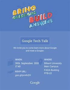Google Tech Talk   Bilkent Üniversitesi Kariyer Merkezi