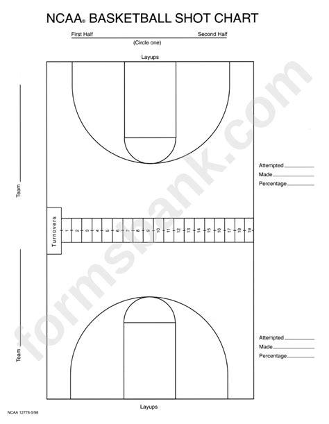 basketball shot chart printable