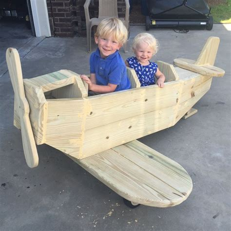diy airplane play structure hometalk
